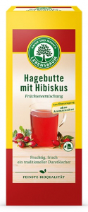 Ceai BIO de macese si hibiscus, 20*2,5gr LEBENSBAUM [0]