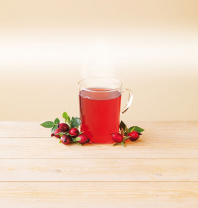 Ceai BIO de macese si hibiscus, 20*2,5gr LEBENSBAUM [1]