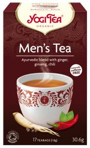 Ceai Bio pentru BARBATI, 17 pliculete - 30.6gr Yogi Tea