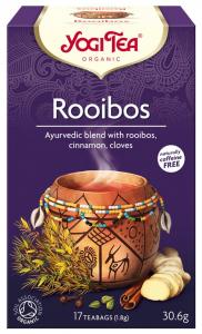 Ceai Bio ROOIBOS, 17 pliculete - 30.6g Yogi Tea