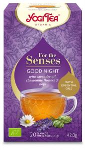 Ceai Cu Ulei Esential, Noapte Buna, Bio 42G Yogi Tea [0]