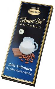 Ciocolata cu lapte, 100 g LIEBHART'S AMORE BIO