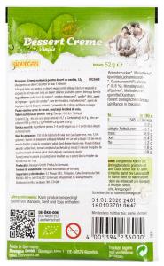 Crema Bio pentru desert cu vanilie, 52g Biovegan [1]