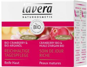 Crema de ingrijire pentru zi cu merisor Bio si ulei de argan Bio, 50ml Lavera [0]