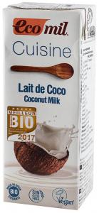 Crema vegetala Bio pentru gatit pe baza de cocos, 200 ml ECOMIL CUISINE [1]