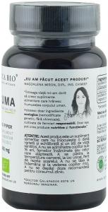 Curcuma bio (Turmeric) din India (405 mg), 60 capsule (30 g) [3]