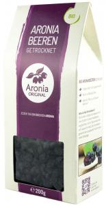 Fructe BIO de aronia uscate, 200 g Aronia Original [1]
