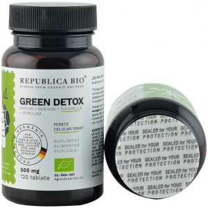 Green Detox (500 mg) supliment alimentar bio, 120 tablete (60 g) [4]