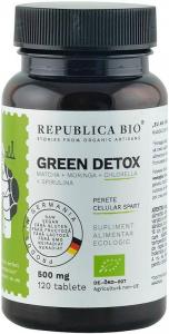 Green Detox (500 mg) supliment alimentar bio, 120 tablete (60 g) [0]