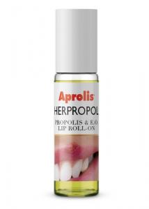 HERPROPOL Balsam de buze Roll-on cu plante si propolis, 5 ml Aprolis [1]