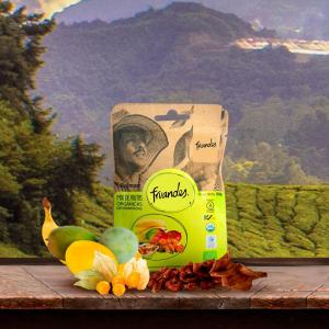 Mango, catina incasa, baby banane deshidratate bio, 30g Juan Valdez [2]