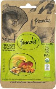 Mango, catina incasa, baby banane deshidratate bio, 30g Juan Valdez [0]