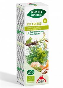 MIX BIO 8 DIN PLANTE, GASES, DIGESTIE SI STOMAC PLAT, 50 MLPhyto-Biople [1]
