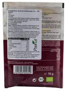 Mousse BIO de ciocolata, 78 g Arche Naturkche [1]