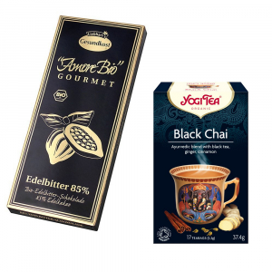 Pachet cu ceai negru si ciocolata neagra [1]