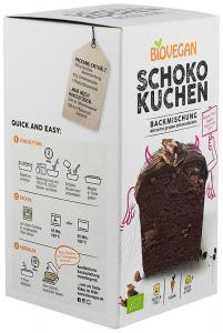 Premix bio pentru prajitura cu ciocolata, 380g Biovegan [1]