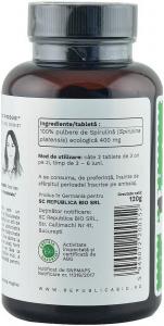 Spirulina bio de Hawaii (400 mg), 300 tablete (120 g) [3]