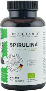 Spirulina bio de Hawaii (400 mg), 300 tablete (120 g) [0]