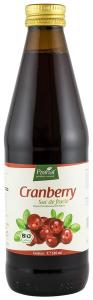 Suc de merisoare ( afine rosii ),100%, bio, 330 ml Medicura [0]