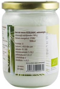 Ulei de cocos Bio extravirgin, 500 ml [1]