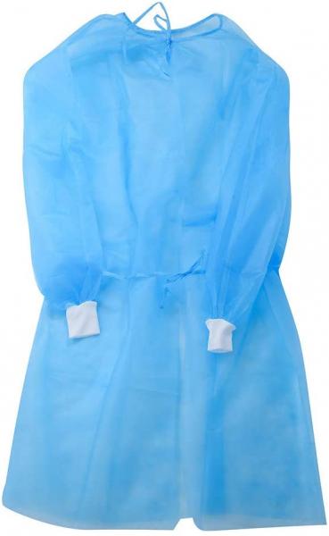 Halat medical impermeabil albastru 40 gr/mp [2]