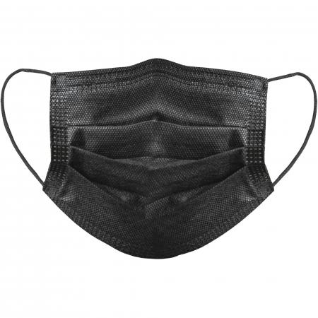Cutie 50 masti faciale de unica folosinta 3 straturi Negru [1]