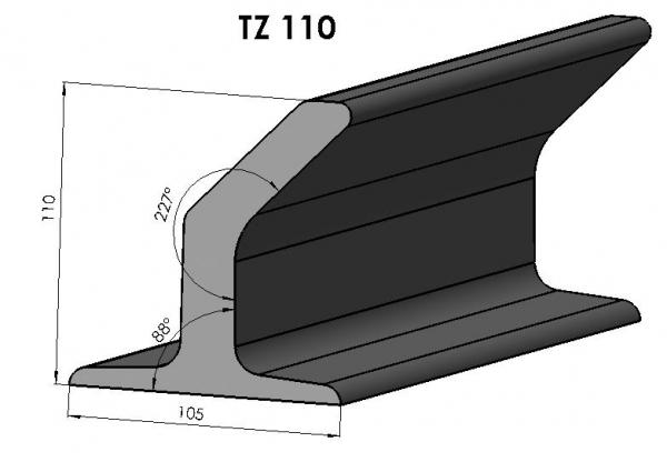 Racleti din cauciuc TZ110 pentru benzi transportoare [0]