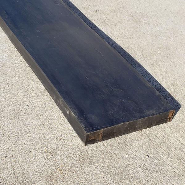 Razuitor din cauciuc 750x200x40mm cu retea de cablu metalic pentru lame deszapezire [1]