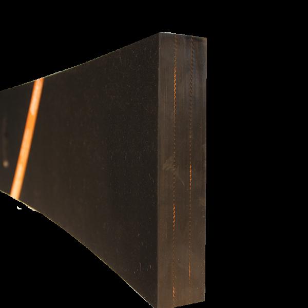Razuitor din cauciuc 2000x200x40mm cu insertie textila pentru lame deszapezire [1]