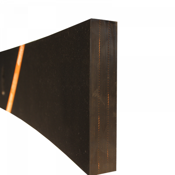Razuitor din cauciuc 2500x200x40mm cu insertie textila pentru lame deszapezire [1]