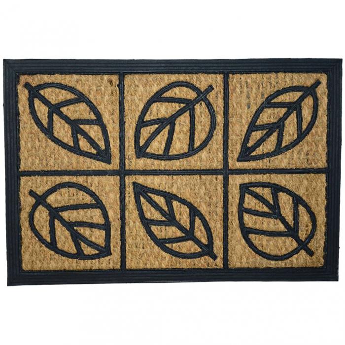 Covoras intrare din cauciuc cu fibre de cocos 40 x 60 cm, diverse modele [0]
