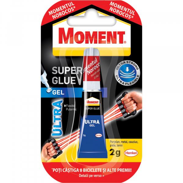 Super glue Moment Ultra Gel, 2 g [0]