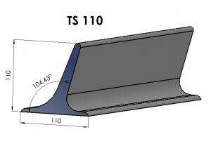 Racleti din cauciuc TS110 pentru benzi transportoare [0]