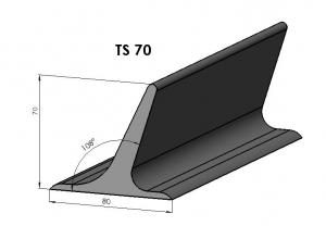 Racleti din cauciuc TS70 pentru benzi transportoare [0]