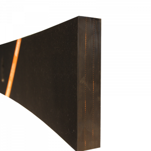 Razuitor din cauciuc 500x200x40mm cu insertie textila pentru lame deszapezire [1]