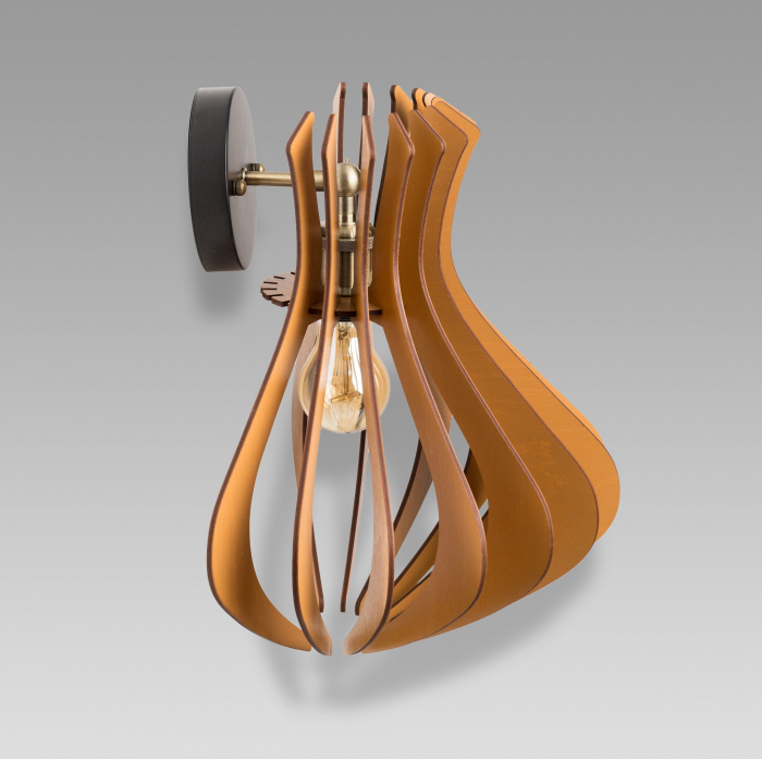 Aplică din lemn – Caliope Brown [2]