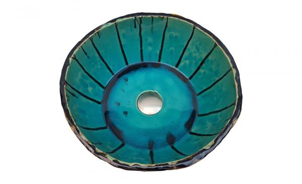 """Chiuveta Ceramica UNICAT """"Blue Sky"""" [1]"""