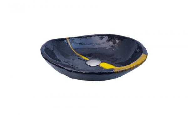 "Chiuveta ceramica UNICAT ""Negru Satin"" [1]"