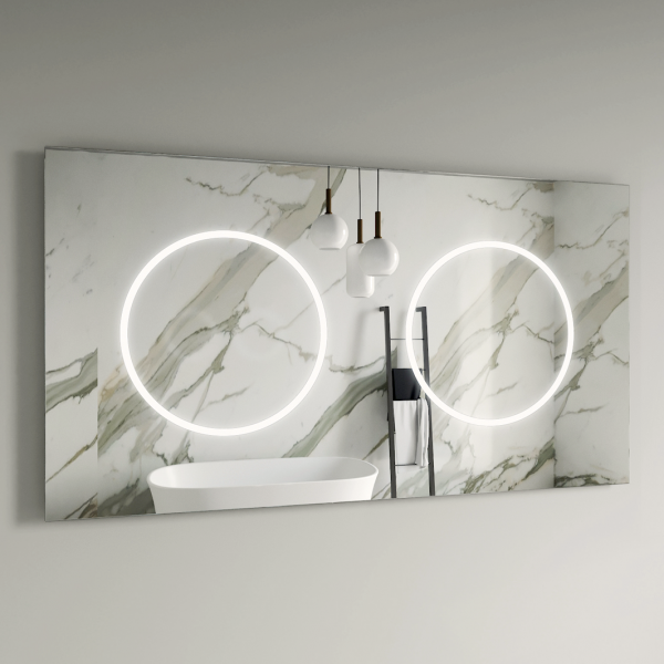 Oglindă LED | AURORA DOUBLE [0]