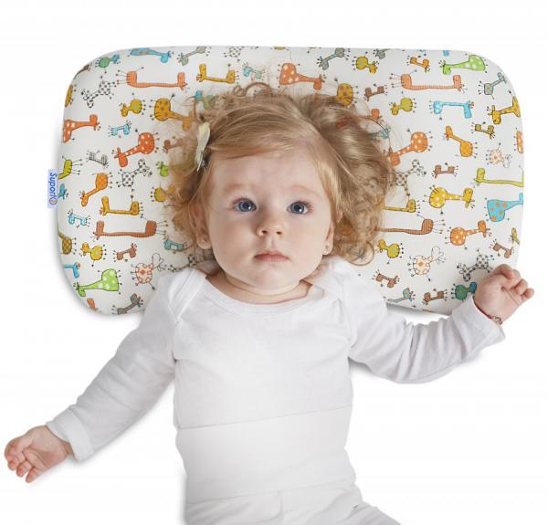Pernă bebeluși ortopedică | pernă pentru formarea capului la bebeluși [8]