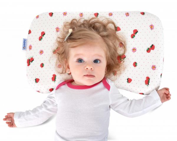 Pernă bebeluși ortopedică | pernă pentru formarea capului la bebeluși [0]