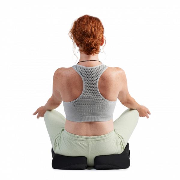 Perna Ortopedică Suport Coccis pentru scaun de birou sau mașină, spumă cu memorie, ameliorează durerile și îmbunătățește postura, confort sporit [3]