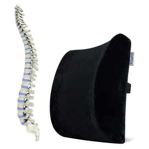 Pernă ortopedică lombară pentru scaun cu suport lombar [6]