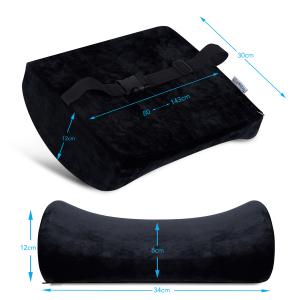 Pernă ortopedică lombară pentru scaun cu suport lombar [5]