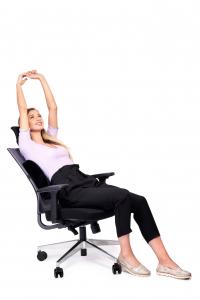 Pernă ortopedică lombară pentru scaun cu suport lombar [1]