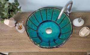 """Chiuveta Ceramica UNICAT """"Blue Sky"""" [0]"""