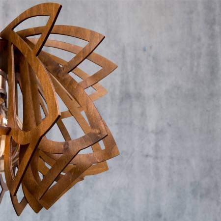 Lustră din lemn Evolette [3]