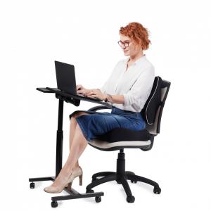 Perna Ortopedică Suport Coccis pentru scaun de birou sau mașină, spumă cu memorie, ameliorează durerile și îmbunătățește postura, confort sporit [1]