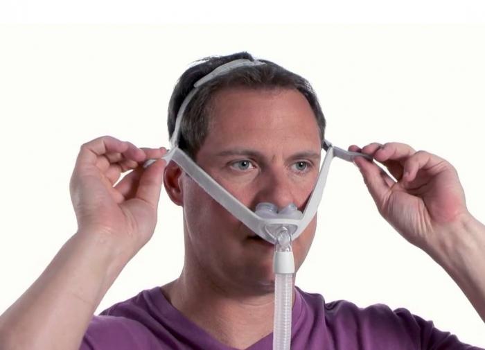 Назална маска с възглавници - Nuance Gel 3