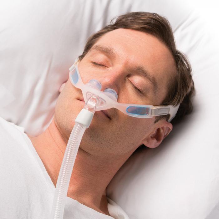 Назална маска с възглавници - Nuance Gel Pro 4